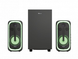 Boxe Stereo Trust GXT 635 RUMAX 2.1 SPEAKER SET RGB SPECIFICATIONS General Type - TR-23927