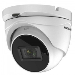 Camera de supraveghere Turret Turbo HD Hikvision DS-2CE76H0T-ITMFS 2.8 mm, 5MP, IR 30M, AoC, Microfon - DS-2CE76H0T-ITMFS2