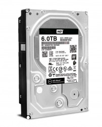 Hard disk WD Black, 6TB, 7200RPM, SATA-III, 256MB - WD6003FZBX