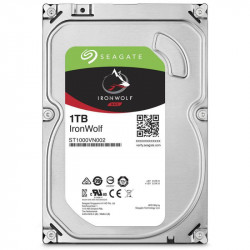 HDD Seagate IronWolf NAS 1TB, 5900rpm, 64MB cache, SATA-III - ST1000VN002