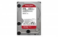 HDD WD Red™ Plus 3TB, 5400RPM, 128MB cache, SATA-III - WD30EFZX