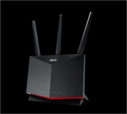 Router gaming wireless ASUS RT-AX86S, AX5700, WiFi 6, MU-MIMO, Mobile Game Mode, compatibil PS5, AiProtection Pro, Parental Controls, 3 antene Wi-Fi - RT-AX86S