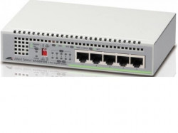 Switch ALLIED TELESIS 910 5 porturi Gigabit Layer 2 smart managed, 5 ani gara - AT-GS910/5-50