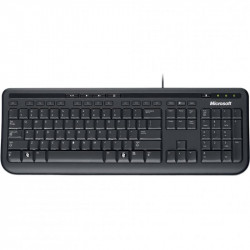Tastatura Microsoft Wired Keyboard 600, USB, Negru - ANB-00019