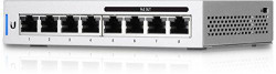 Ubiquiti US-8-60W 8-port Gigabit UniFi switch (4x PoE+/48V passive PoE out 60W) - US-8-60W