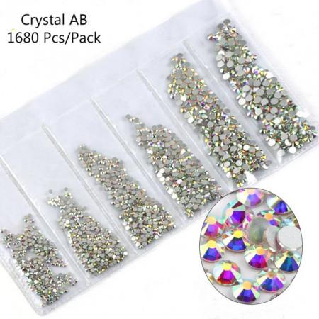Cristale 6 marimi Aurora Boreala - AM6