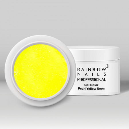 Poze Gel Color - Pearl Yellow Neon