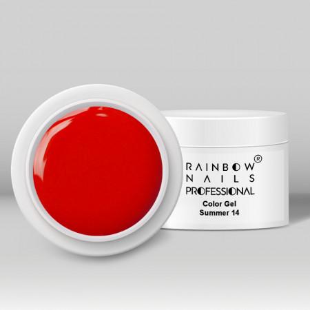 Gel Color Rainbow Nails Professional - 14 Summer