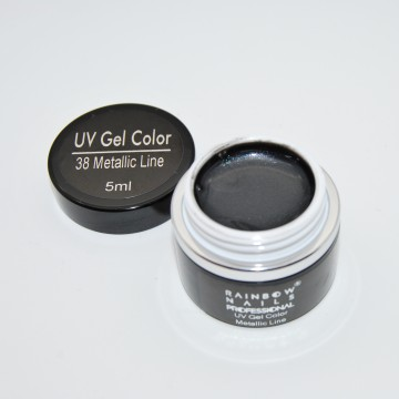 Poze Gel Color - 38 Metalic