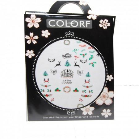 Poze Tatuaj unghii - Colorf - CA 089