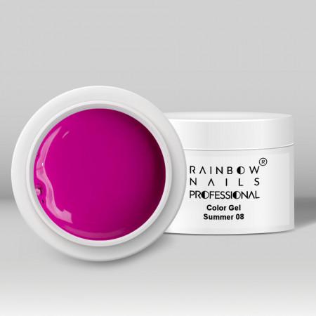 Gel Color Rainbow Nails Professional - 08 Summer