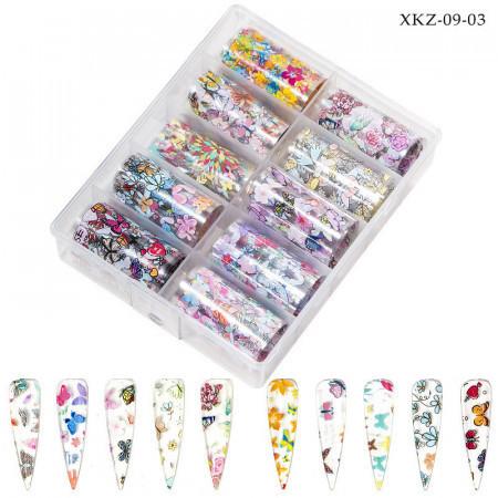 Poze Folie de transfer set 10 - XKZ 09-03
