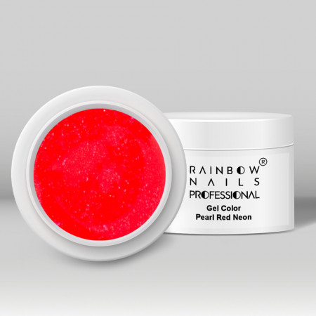 Gel Color - Pearl Red Neon