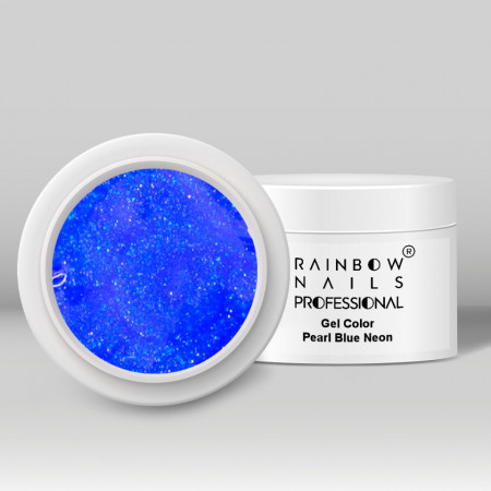 Poze Gel Color - Pearl Blue Neon