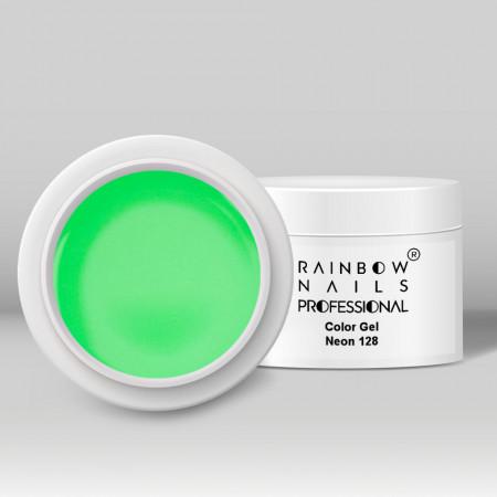 Gel Color Rainbow Nails Professional - 128 Neon