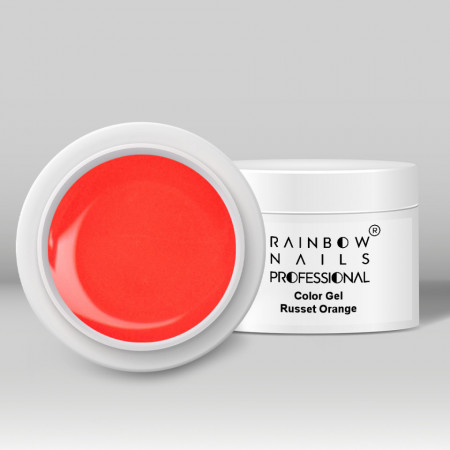 Gel Color Rainbow Nails Professional - Russet Orange