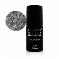 Quick Finish Silver Galaxy Rainbow Nails Professional - 7ml