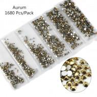 Cristale 6 marimi Gold - AM6