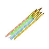 Set 5 pensule pentru acril