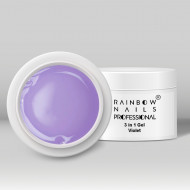 Gel 3 in 1 Rainbow Nails Professional - Violet 100 ml