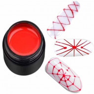 Gel Color Rainbow Nails Professional - Spider Rosu