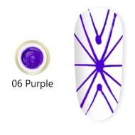 Spider Gel Canni - purple - 5g