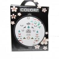 Tatuaj unghii - Colorf - CA 089