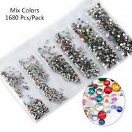 Cristale 6 marimi Multicolor - EM6