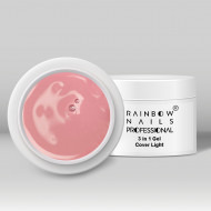 Gel 3 in 1 Rainbow Nails Professional - Cover Light 50 ml