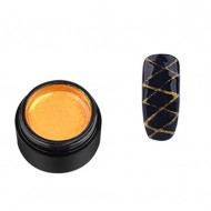 Gel Color Rainbow Nails Professional - Spider Auriu