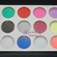 Pudra acrilica color - set 12
