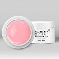 Gel 3 in 1 Rainbow Nails Professional - Pink Mask 15 ml