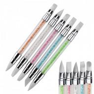 Set 5 Pensule Silicon-Cristale