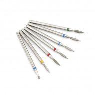 Set 7 Bituri Dry Manicure - Diamond 02