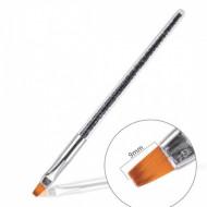 Pensula Black varf drept N6