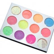 Pigment fosforescent set 12 buc - J 1207