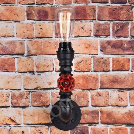 Corp de iluminat - aplica de perete din teava de fonta - VINTAGE 218-A