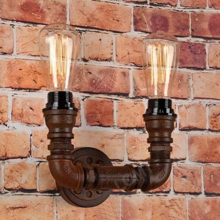 Corp de iluminat din teava de fonta- aplica de perete - VINTAGE 214-B