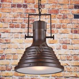 Corp de iluminat Pendul cu Lant, Retro Vintage Industrial, Metal Maro, E27 - VINTAGE 222-A