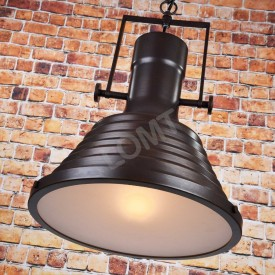 Corp de iluminat Pendul cu Lant, Retro Vintage Industrial, Metal Negru Bronz, E27 - VINTAGE 222-B