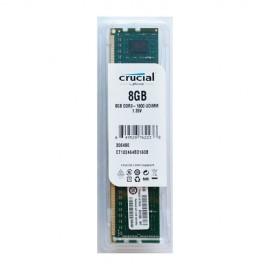8 GB DDR3/1600, CRUCIAL CT102464BD160B, CL11, 1.35V