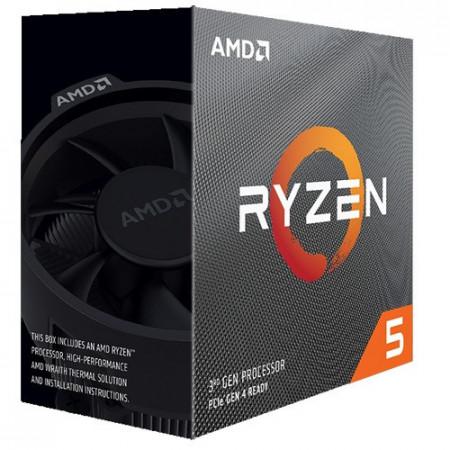 Slika CPU AMD Ryzen 5 3500X, 3.6GHz (4.1GHz), 6C/6T, 32MB, 65W,, AM4. BOX