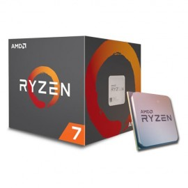 Slika CPU AMD Ryzen 7 2700, 3.2 GHz (4.1GHz), 8 Cores/16 Threads, 16MB L3 Cache, 12nm, 65W, Wraith Spire with RGB LED Socket AM4