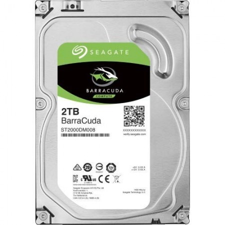 Slika HDD 2TB SEAGATE BarraCuda ST2000DM008, 7200rpm, 256MB, SATA 3
