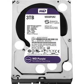 Slika HDD 3 TB WESTERN DIGITAL Purple, WD30PURZ, 64MB, 5400rpm,za video nadzor, SATA 3