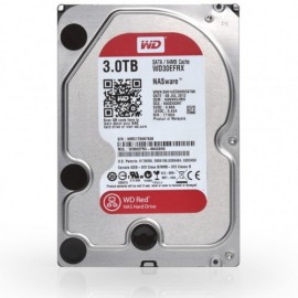 Slika HDD 3TB WESTERN DIGITAL Red, WD30EFRX, NAS, 64MB, SATA 3