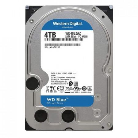 HDD 4TB WESTERN DIGITAL Blue WD40EZAZ, 5400 rpm, 256MB, SATA 3