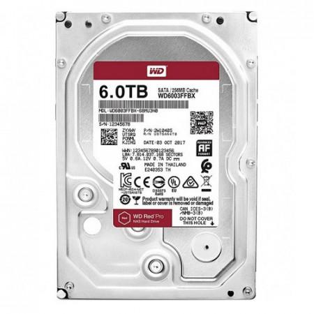 Slika HDD 6TB WESTERN DIGITAL Red Pro, WD6003FFBX, NAS, 7200 rpm, 256MB, SATA 3