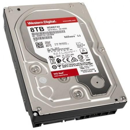 Slika HDD 8 TB WESTERN DIGITAL RED, WD80EFAX, NAS, 256MB, SATA 3
