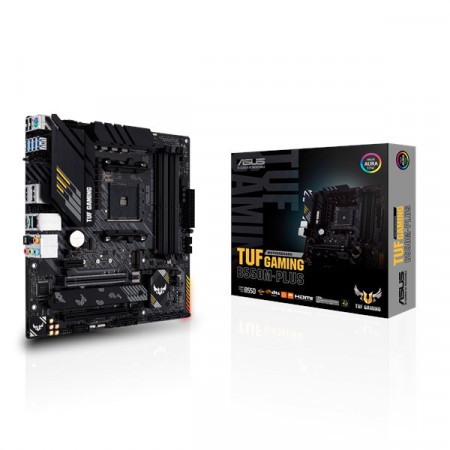 Slika MB ASUS TUF GAMING B550M-PLUS, AM4, AMD B550, 4 x DIMM